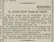 Utrechtsch Nieuwsblad 14 februari 1938