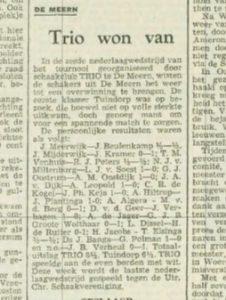 Utrechtsch Nieuwsblad 25 juni 1955